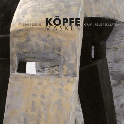 "Titel . Beate Debus ""Köpfe Masken"" Grafik Relief Skulptur (Kunstmappe Gestaltung: Edition Sinnbild Designakut 2011)"