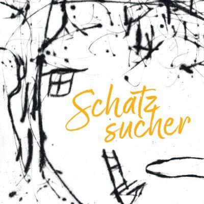 Schatzsucher: Umschlag . Autoren des Südthüringer Literaturvereins mit Grafiken von Frank Rothämel (Gestaltung: Edition Sinnbild Designakut 2020)